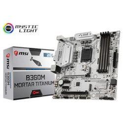 Płyta MSI B360M MORTAR TITANIUM /B360/DDR4/SATA3/M.2/USB3.1/PCIe3.0/s.1151/mATX