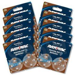 Rayovac baterie do aparatu słuchowego typ 312 (80 szt.) - produkt w magazynie - szybka wysyłka!