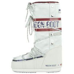 Moon Boot MB Space Suit Snow boots Biały Srebrny 45-47 Przy zakupie powyżej 150 zł darmowa dostawa.