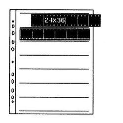 Kaiser Folia na negatywy pergaminowa 24x36 25szt