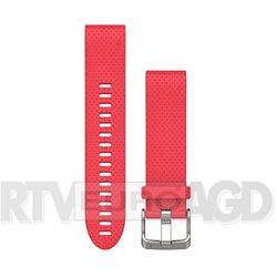 Garmin Pasek silikonowy Quick Fit 20mm Fenix 5S (różowy)