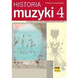 Historia Muzyki. Podręcznik Dla Szkół Muzycznych. Część 4 (opr. miękka)