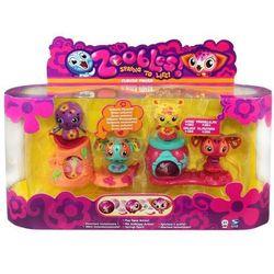 Zoobles. 4 Pak Dzieci kwiaty
