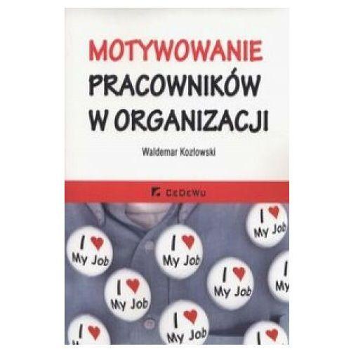 Biblioteka biznesu, Motywowanie pracowników w organizacji - 35% rabatu na drugą książkę! (opr. miękka)