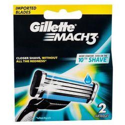 Gillette Mach3 wkład do maszynki 2 szt dla mężczyzn