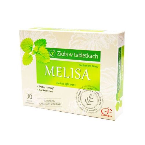 Leki uspokajające, Melisa x 30 tabl powlekanych