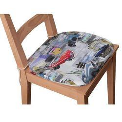 Dekoria Siedzisko Bartek na krzesło, samochody retro, 40x37x2,5cm, Freestyle do -30%