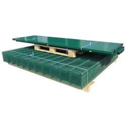 vidaXL Panele ogrodzeniowe 2D z słupkami - 2008x2230 mm 8 m Zielone Darmowa wysyłka i zwroty