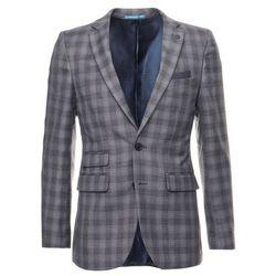 Burton Menswear London CHAR CHECK Marynarka garniturowa grey