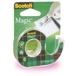 SCOTCH Taśma klejąca Magic matowa na podajniku 890 (8-1975), 19mmx7,6m