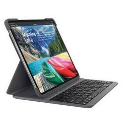 Logitech SLIM FOLIO PRO iPad 12.9inch - UK - Etui z klawiaturą - UK English - Czarny