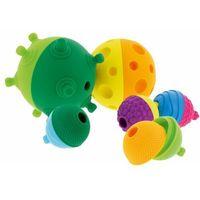 Pozostałe zabawki edukacyjne, Trefl 61359 Lalaboom 2 Odkrywcze kule Kulko-Klocki sensoryczne