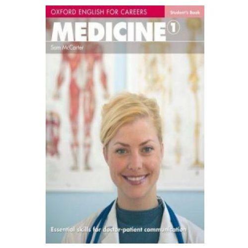 Książki medyczne, Oxford English for Careers: Medicine 1 Student's Book (opr. miękka)