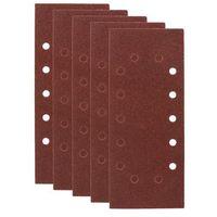 Papiery ścierne, Papier ścierny UNIWERSALNY P40/80/120 280 x 115 mm 5 szt. DEXTER