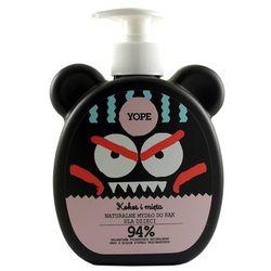 Naturalne Mydło do Rąk dla Dzieci - Kokos i Mięta - 400ml marki Yope