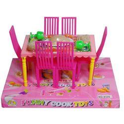 Zabawka SWEDE Stół i krzesła 075874 + Zamów z DOSTAWĄ JUTRO!