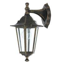 Lampy ścienne, Kinkiet lampa oprawa ścienna zewnętrzna Rabalux Velence 1x60W E27 czarny 8232