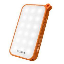 Power Bank ADATA D8000L 8000mAh, outdoor LED svítilna (AD8000L-5V-COR) Pomarańczowa