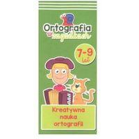 Książki dla dzieci, Ortografia w zagadkach kreatywna nauka ortografii Kapitan Nauka (opr. twarda)