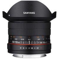 Obiektywy do aparatów, Samyang 12mm F2.8 ED AS NCS Fish-eye SONY - produkt w magazynie - szybka wysyłka!