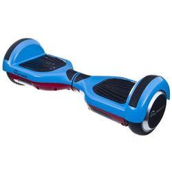 Elektryczna deskorolka SKYMASTER Wheels 6 Dual Smart Niebiesko-czerwony