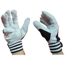 Monterskie rękawice robocze skórzane keystone 9 L