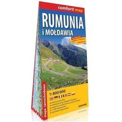 Comfort! map Rumunia i Mołdawia 1: 800 000 mapa (opr. broszurowa)