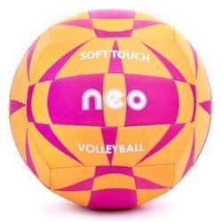 Piłka siatkowa Spokey Neo Soft neoprenowa pomarańczowo - różowa