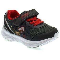 Buty sportowe dla dzieci American Club RL 05/20 Red - Grafitowy