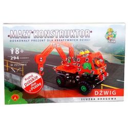 Zabawka ALEXANDER Mały konstruktor Służba Drogowa Dźwig