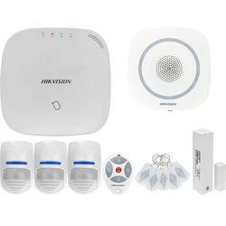 ZA12660 Bezprzewodowy system alarmowy GSM 4G 3 czujki ruchu HIKVISION z sygnalizatorem i pilotem