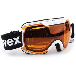 Uvex Downhill 2000 Race Biały lasergold lite/clear 2017-2018 -25 % (-25%)