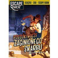 Gry dla dzieci, Egmont książka gra escape quest poszukiwacze zaginionego skarbu