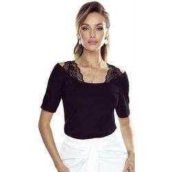 Michelle bluzka damska Eldar Romantica Top Czarna Wiosenna (-8%)