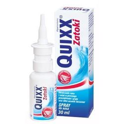 Quixx Zatoki spray do nosa 30ml