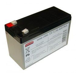 Lestar Lestar żelowy akumulator wymienny LAWa 12V 7,2Ah AGM VRLA - (AKUM. LAWa 12V 7,2AH AGM VRLA) Darmowy odbiór w 21 miastach!