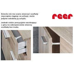 Zabezpieczenie szafki i szuflady 3szt REER - 3 sztuki