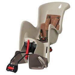 Fotelik POLISPORT Bilby RS brązowy-kremowy / Montaż: tył