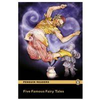 Książki do nauki języka, Five Famous Fairy Tales Book & MP3 Pack: Level 2 - wyślemy dzisiaj, tylko u nas taki wybór !!! (opr. miękka)