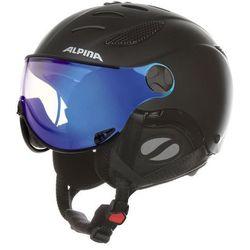 ALPINA JUMP JV VHM BLACK - kask narciarski R. 52-54