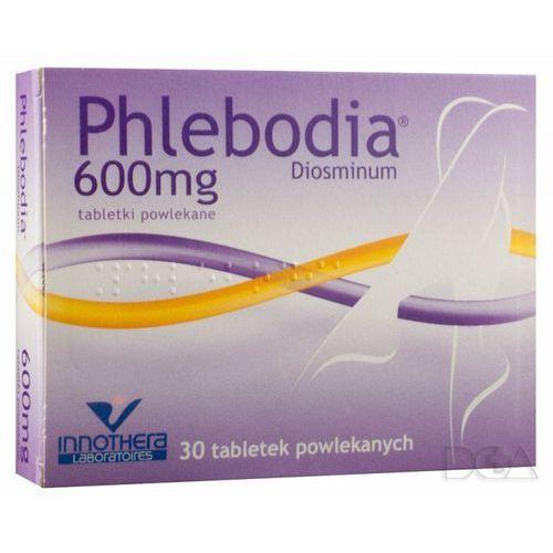 Pozostałe leki na układ krążenia, Phlebodia tabl.600mg x 30