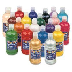 Farba plakatowa PRIMO 500ml. butelka - turkusowy