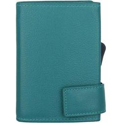 SecWal SecWal 1 Kreditkartenetui Geldbörse RFID Leder 9 cm türkis ZAPISZ SIĘ DO NASZEGO NEWSLETTERA, A OTRZYMASZ VOUCHER Z 15% ZNIŻKĄ