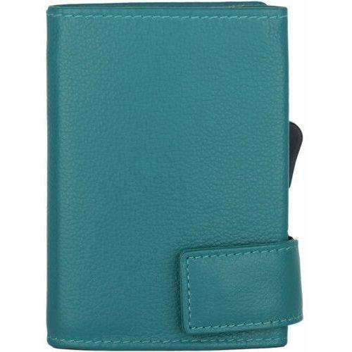 Etui i pokrowce, SecWal SecWal 1 Kreditkartenetui Geldbörse RFID Leder 9 cm türkis