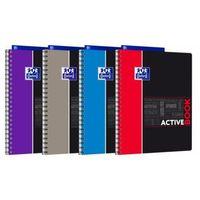 Zeszyty, Kołonotatnik Oxford Student Activebook A4 80 kartek kratka PP