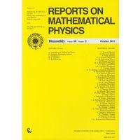Matematyka, Reports on Mathematical Physics 68/2 Kraj (opr. miękka)