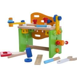 Drewniany wielofunkcyjny warsztat narzędziowy