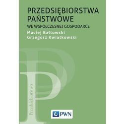 Przedsiębiorstwa państwowe we współczesnej gospodarce - Maciej Bałtowski - ebook