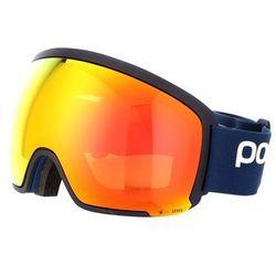 POC ORB CLARITY Gogle narciarskie basketane blue/spektris orange