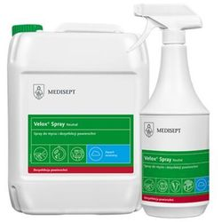 Velox Spray Neutral Medisept 5 L - Spray do mycia i dezynfekcji powierzchni